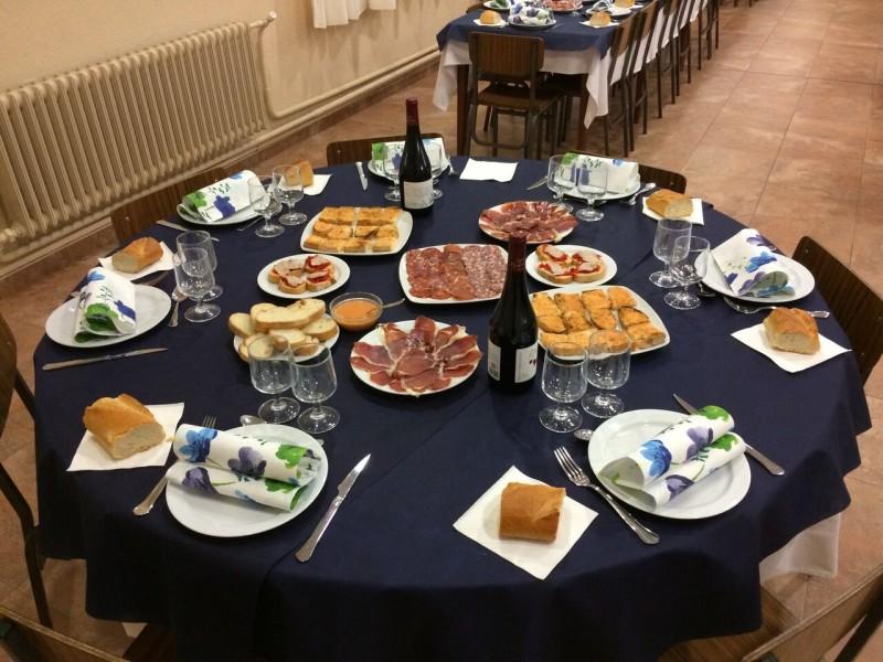 mesa comedor seminario de tarazona