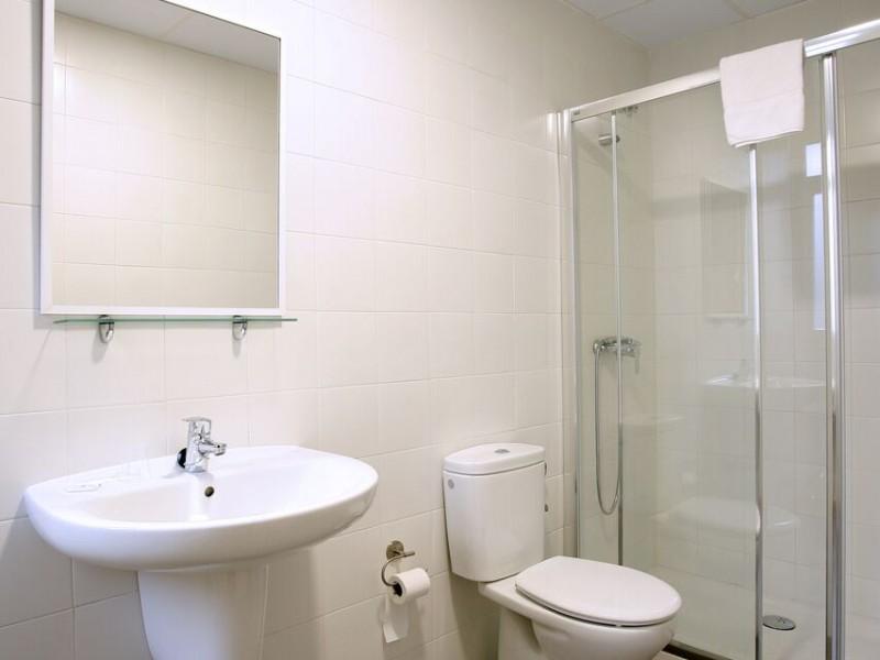 Habitación individual baño